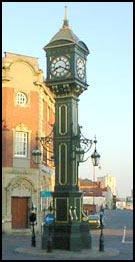 The Chamberlain Clock in the Jewellery Quarter